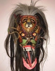 12. Mexican ceremonal mask